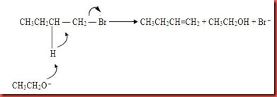 write a mechanism for the conversion of 1-butanol to 1-butyl bisulfate